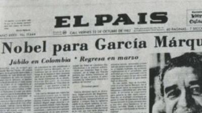 El Nobel: el momento cumbre de la carrera de García Márquez