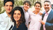 Sebastián Poza apoyó a sus hermanastros, hijos de Itatí Cantoral, tras la muerte de su abuela
