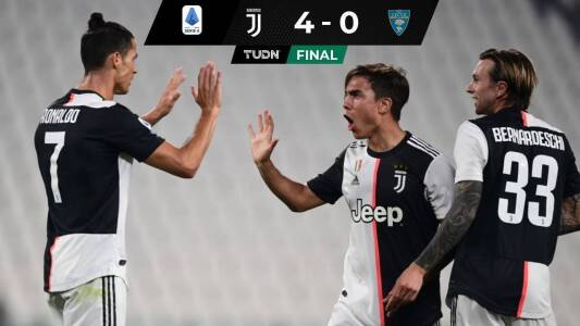 La Juventus le pasó por encima al Lecce y se acerca al Scudetto