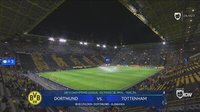 Así luce el estadio del Dortmund, previo al decisivo juego ante el Tottenham