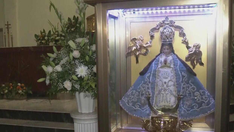 La Virgen de San Juan de los Lagos visita las parroquias del sur de California - Univision