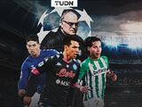 Lainez, Hirving Lozano y James Rodríguez 'sueñan' con la Champions