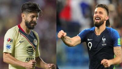 ¿Oriber Giroud? 'Piojo' Herrera lo comparó con el '9' de Francia, campeón del mundo