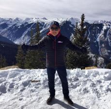 Raul Brindis en Aspen, Colorado