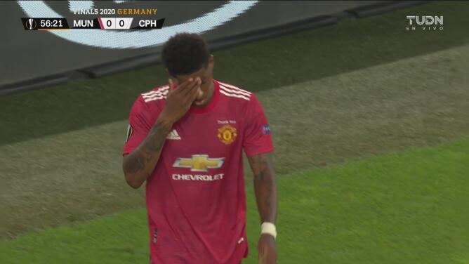 ¡Van a soñar con el fuera de lugar! Otro gol anulado para el Manchester United