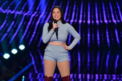 La puertorriqueña de 19 años deleitó a los jueces con el tema 'I wanna dance with somebody'de Whitney Houston.
