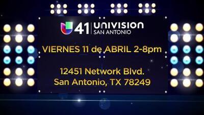 Audiciona y sé parte de Univision 41