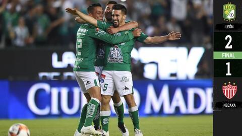 León 2-1 Necaxa - RESUMEN Y GOLES – Clausura 2019 – Jornada 13 - Liga MX