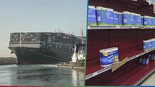 Otra escasez de papel de baño: La consecuencia que pudiera tener el bloqueo del canal de Suez