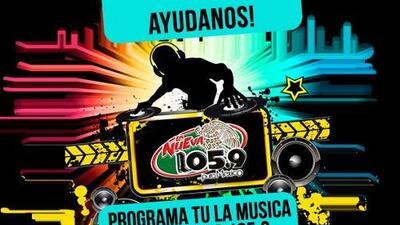 PROGRAMA TU LA MUSICA DE LA NUEVA 105.9 FM