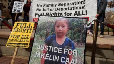 ¿Cuándo se sabrán las causas exactas de la muerte de Jakelin Caal?