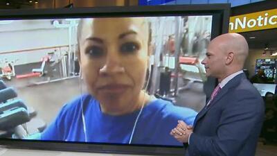 """""""Ha sido una maravilla, he bajado 7 libras"""": participante del Reto 28 de Univision"""