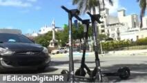 Buscan regularizar el uso de Scooters en calles de San Juan