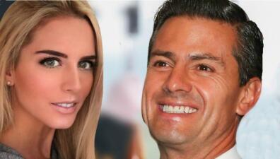 Tania Ruiz pone fin a las especulaciones y admite que Peña Nieto la conquistó