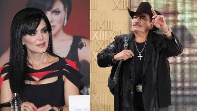 """Maribel Guardia asegura tajante que """"no es la viuda de Joan Sebastian"""" y habla de su relación con Ninel Conde"""