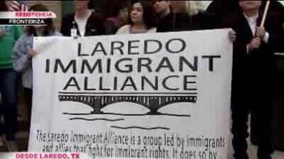 Ciudades fronterizas rechazan el muro de Trump