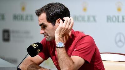 """Roger Federer: """"Nunca conocí a Piqué"""""""