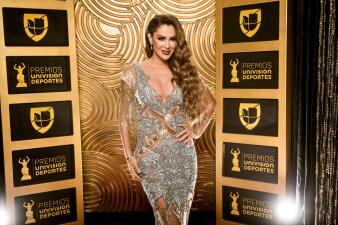 Belleza y deporte, la mezcla perfecta en la alfombra roja de los Premios Univision Deportes