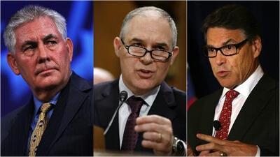 Cambio climático en el gobierno de Donald Trump, ¿su gabinete está preparado para afrontarlo?