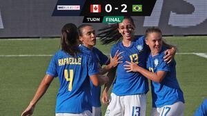 Brasil da pelea hasta el final y sale con la victoria ante Canadá