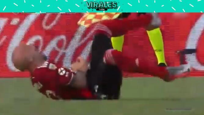La escalofriante lesión del jugador argentino Javier Pinola