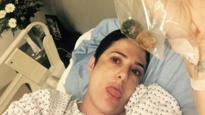 Betty Monroe se recupera después de que le quitaron la vesícula