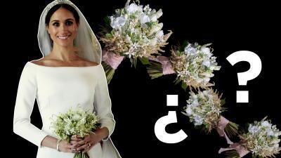 Ya sabemos lo que pasó con el ramo de novia de Meghan Markle (no lo cachó una ex de Harry)