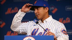 Los New York Mets presentaron a Luis Rojas como su mánager