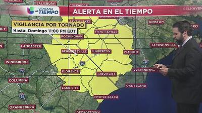 Continúan los efectos de Florence con fuertes lluvias y alerta de tornados