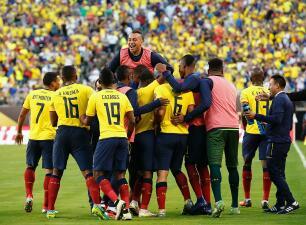 El ranking de los jugadores de Ecuador vs Haití