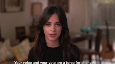A Camila Cabello y Kendall Jenner les importa que te registres a votar en estas elecciones
