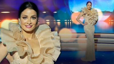 Como un atardecer francés, Dayanara Torres llega deslumbrando al estreno All Stars de MQB