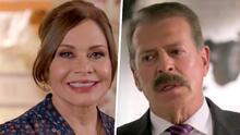 """""""Una telenovela que reúne a la familia"""": Sergio Goyri y María Sorté hablan de sus personajes en Diseñando Tu Amor"""
