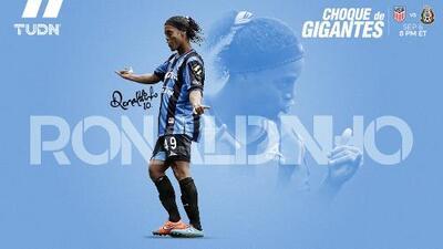 Ronaldinho, un paso de luz y sombra en la Liga MX