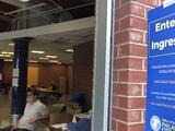 Así fue el primer día de voto anticipado en dos de los siete centros disponibles en Filadelfia