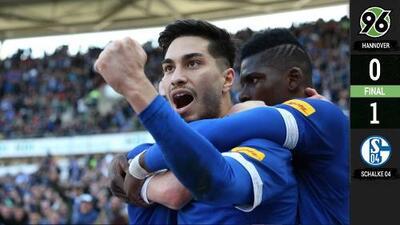 Schalke se aleja de los puestos de descenso tras derrotar al colero Hannover