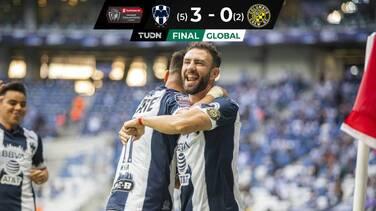 Monterrey golea al Columbus Crew y avanza a las Semifinales
