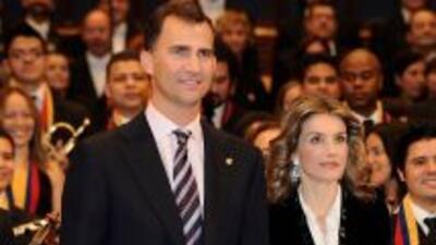 Los Príncipes de Asturias comienzan una visita oficial a Perú