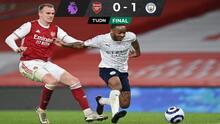 Manchester City se aferra al liderato de la Premier League ante el Arsenal