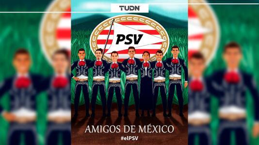 PSV no se olvida de la Independencia de México