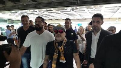 Maradona será presentado con Dorados el lunes