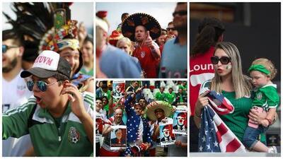 Rivalidad bien entendida: México y USA, confraternizados en el Azteca