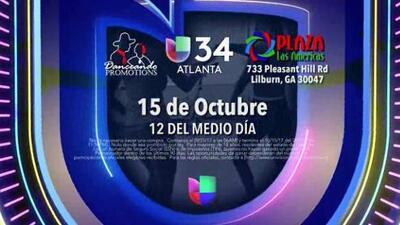 Gana un viaje a una Gala de MQB (Mira Quien Baila) con Univision 34 Atlanta