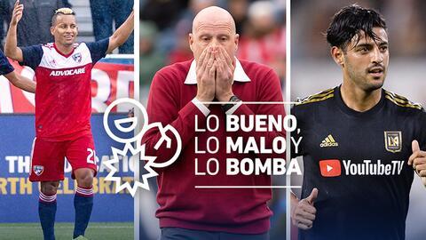 Carlos Vela mantiene a su LAFC invicto y por eso comanda lo mejor de la cuarta jornada en la MLS