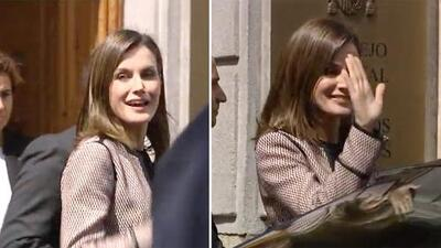 """""""Antipática"""" y """"floja"""": imágenes del abucheo que recibió la reina Letizia luego del episodio con su suegra"""