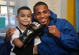 Félix 'El Diamante' Verdejo inspira a jóvenes del Bronx