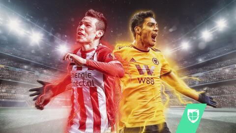 Raúl Jiménez y 'Chucky' Lozano son sinónimo de gol en Europa