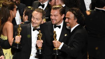 Los mexicanos Iñárritu y Lubezki hacen historia en los Oscar