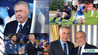 El Napoli tomará acción legal en contra de Ancelotti y jugadores