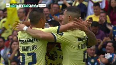 ¡GOOOL! Mateus Uribe anota para América